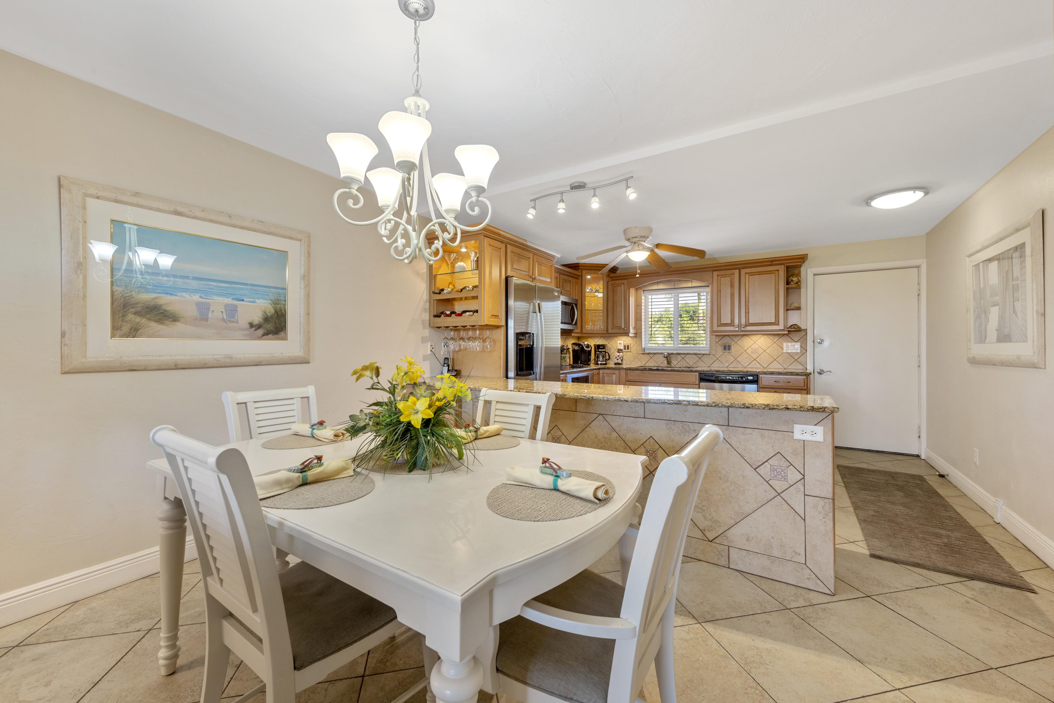 Sanibel Island Rental Condo Kitchen